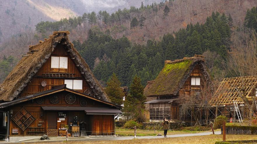 Cabañas tradicionales en Gero. bethom33