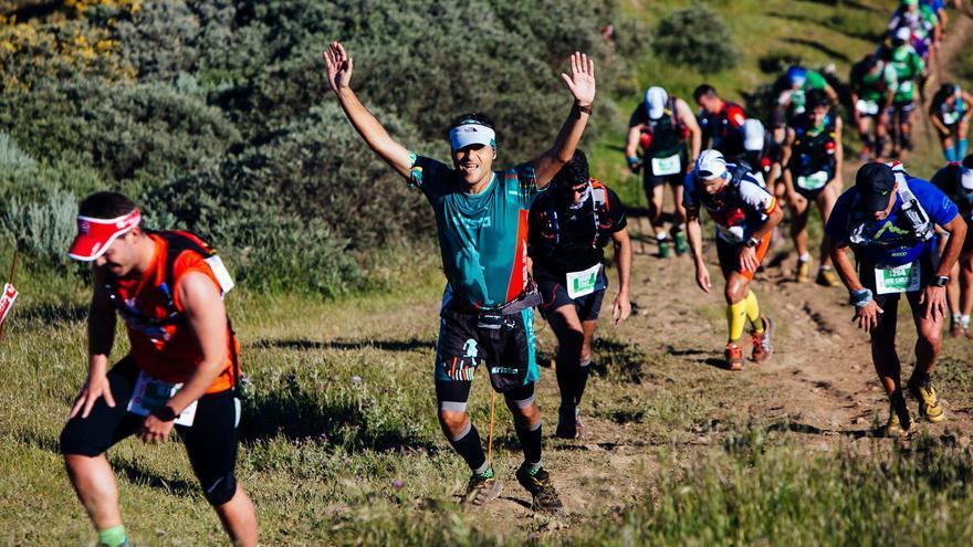 Imagen de la carrera de montaña Entre Cortijos, que tendrá lugar en Guía, en Gran Canaria, el 16 de abril.