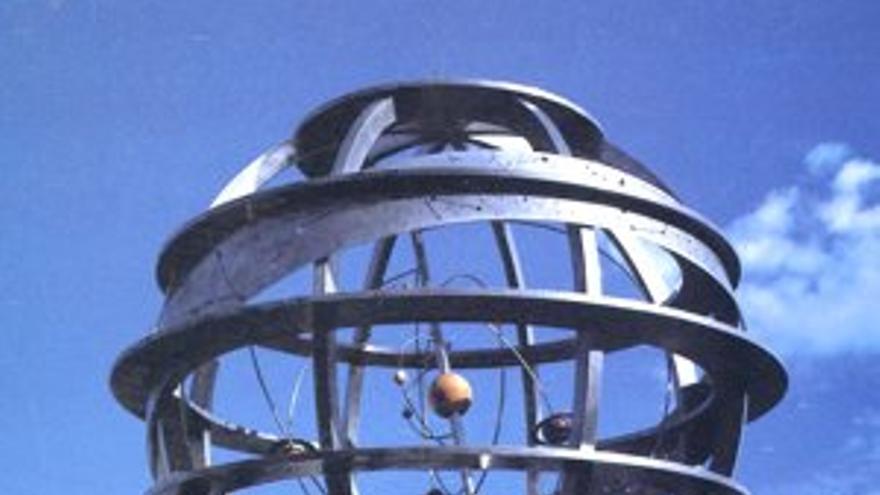 Figuración virtual de la Esfera Armilar.