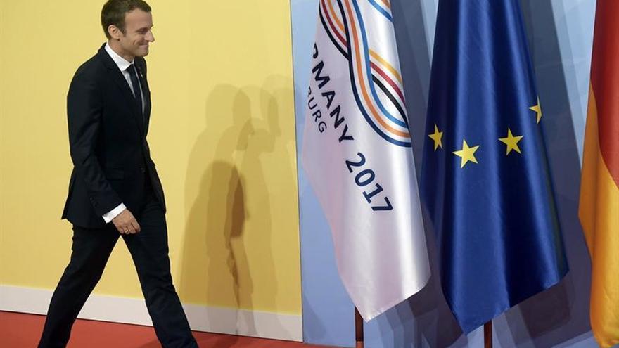 La Fiscalía de París investiga un viaje de Macron a EEUU cuando era ministro