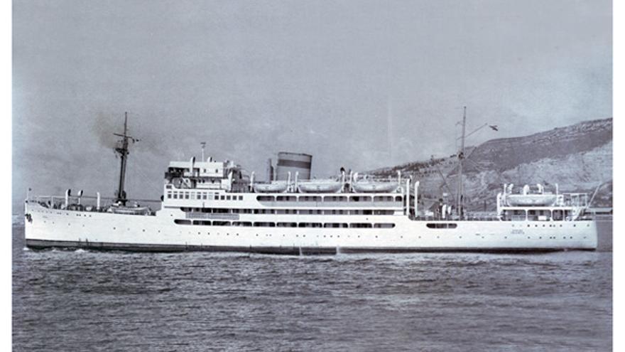 El buque Dómine.
