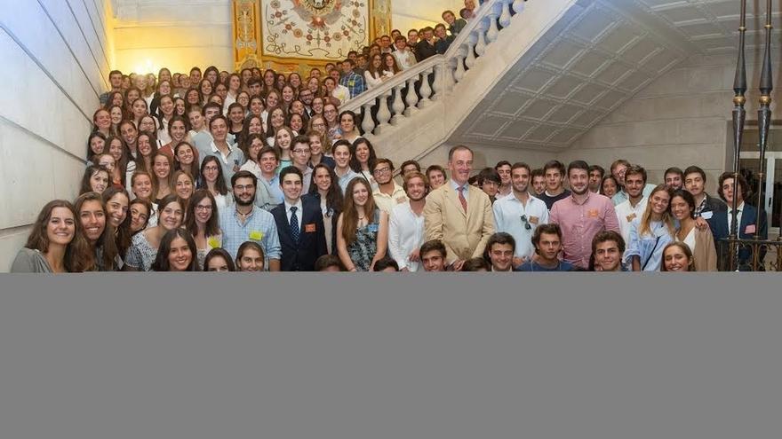 Un total de 307 alumnos participan en el Programa de Becas Alumni de la Universidad de Navarra