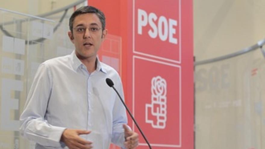 El secretario general del PSOE, Eduardo Madina
