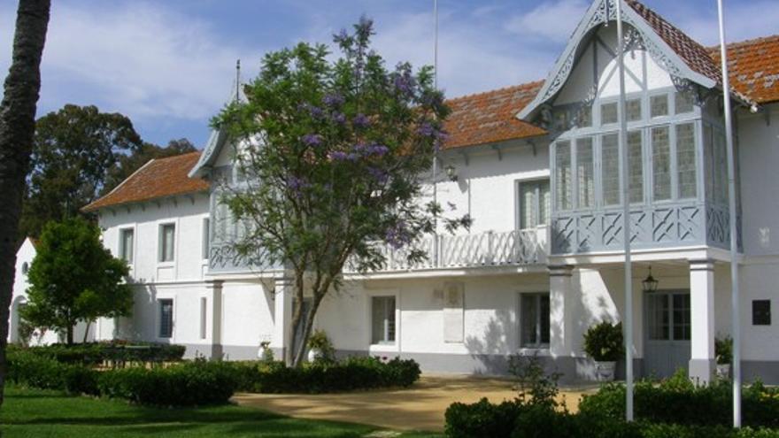 Foto oficial del palacio de Las Marismillas, situado en el Parque Nacional de Doñana. /MAGRAMA