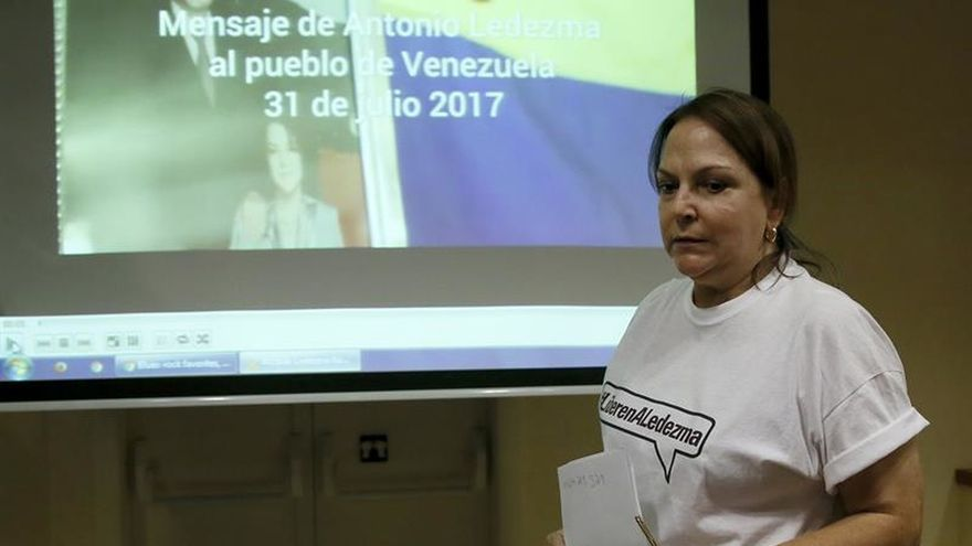 Una opositora venezolana dice que los presos políticos son más con la mediación de Zapatero
