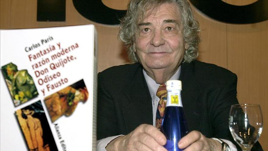 Fallece a los 88 años el presidente del Ateneo de Madrid, Carlos París