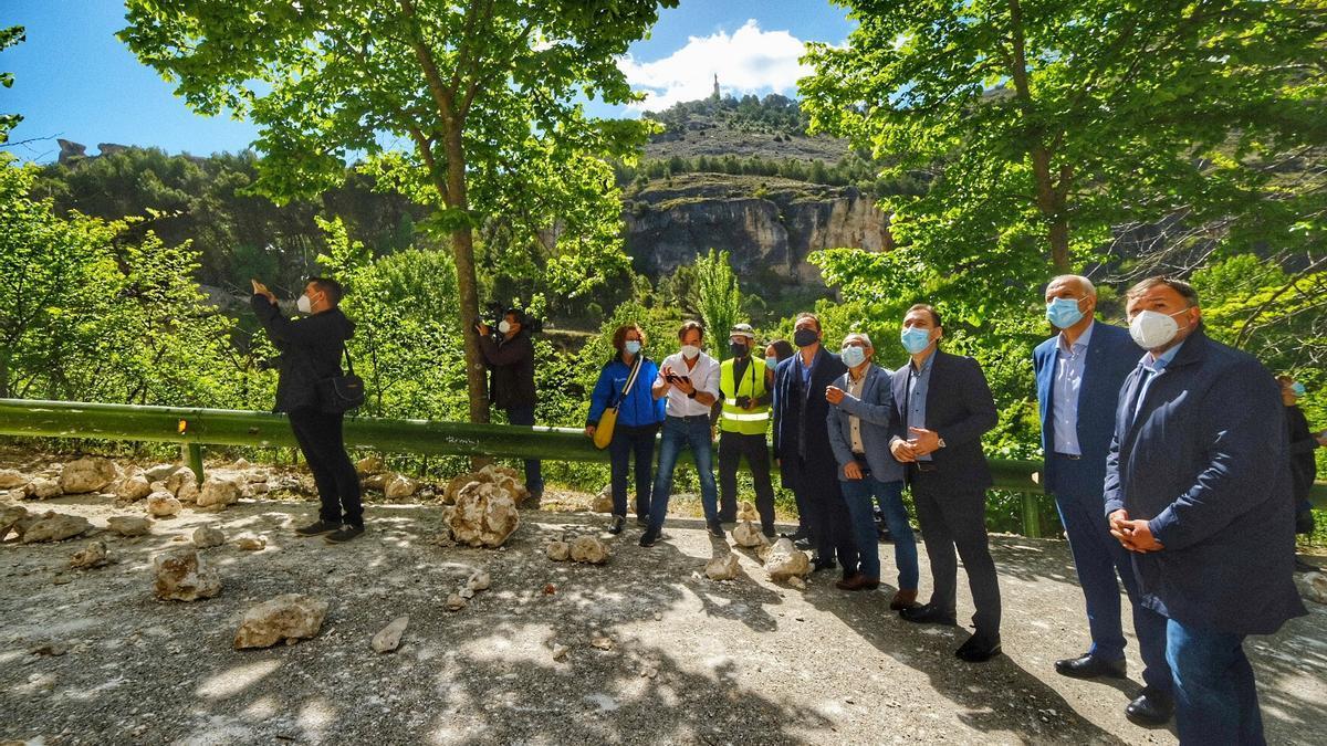 El delegado del Gobierno central no descarta ayudas extraordinarias tras el derrumbe en Cuenca