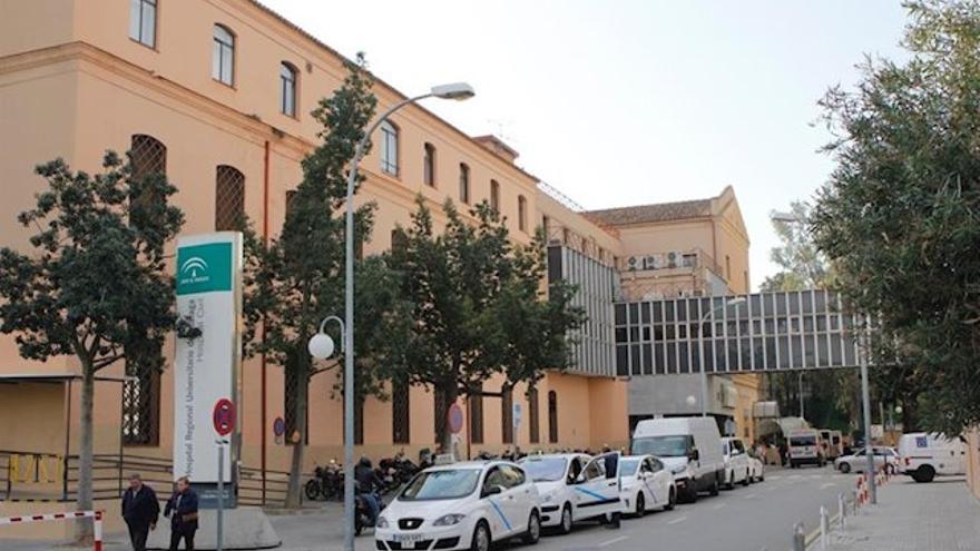 Imagen de archivo del Hospital Civil de Málaga