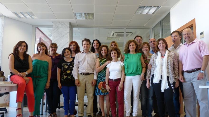 El equipo inicial de Smart Ibérica.
