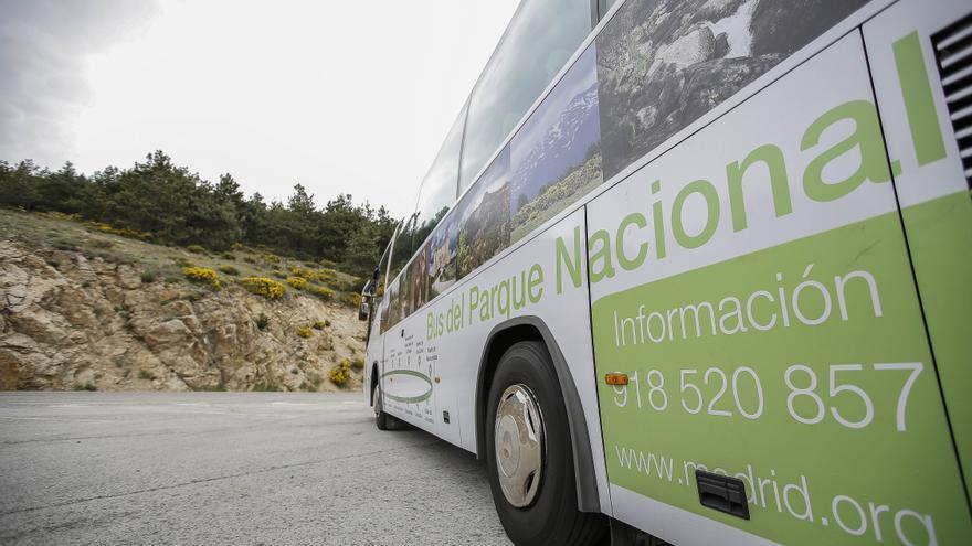 Servicio de autobús para visitas al Parque Nacional de Guadarrama.