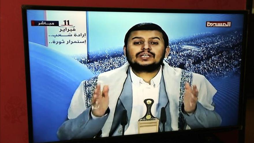 Líder de los hutíes acusa a EEUU y otros países de querer desestabilizar el Yemen