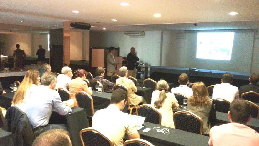 En la imagen, presentación del proyecto de modernización turística 'Nosolocamas Alliance' realizado este miércoles en La Palma.