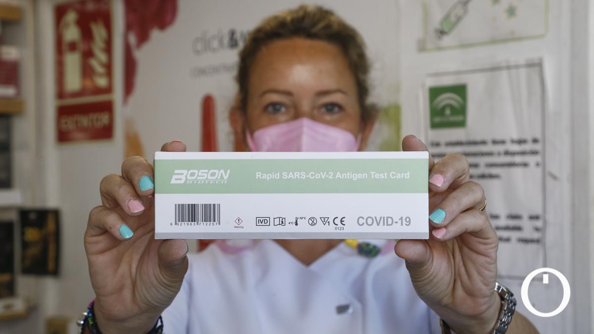 Venta de test Covid-19 en farmacias