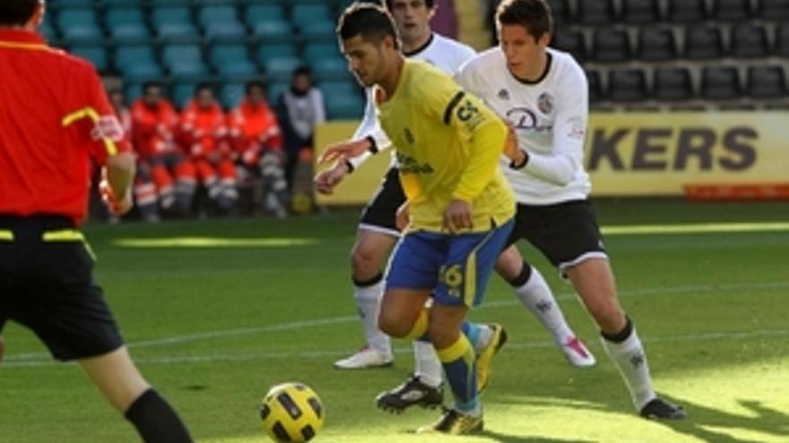 Vitolo reapareció este sábado. (ACFI PRESS)