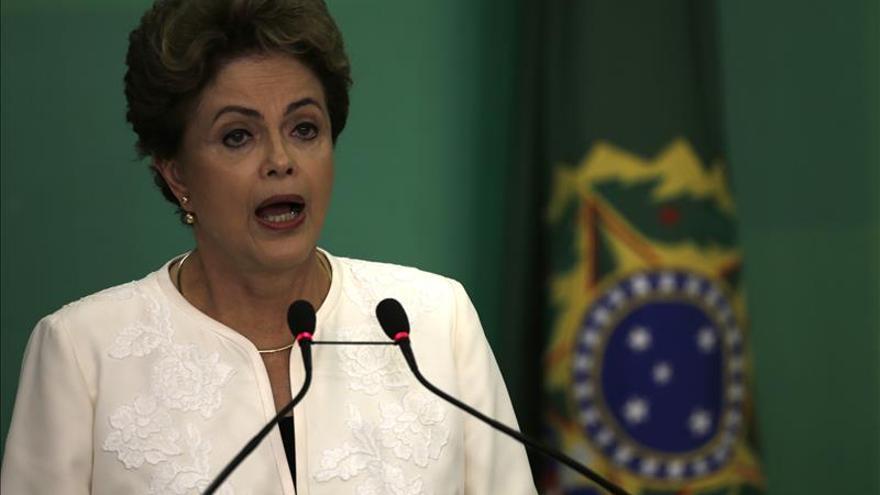 El apoyo a Rousseff está en el 12 por ciento, según una nueva encuesta