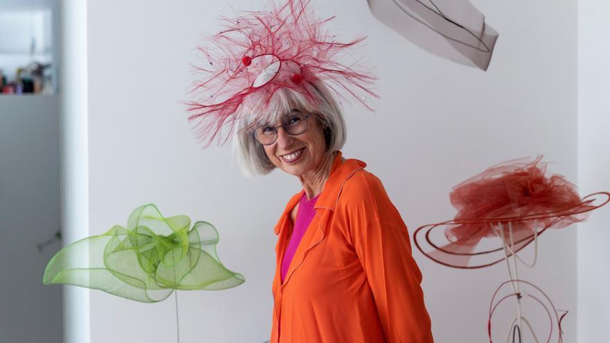 Candela Cort, la sombrerera de vanguardia más atemporal