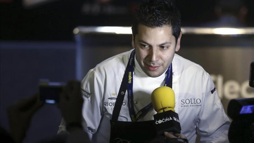Diego Gallegos, de Sollo (Málaga), Cocinero Revelación Madrid Fusión