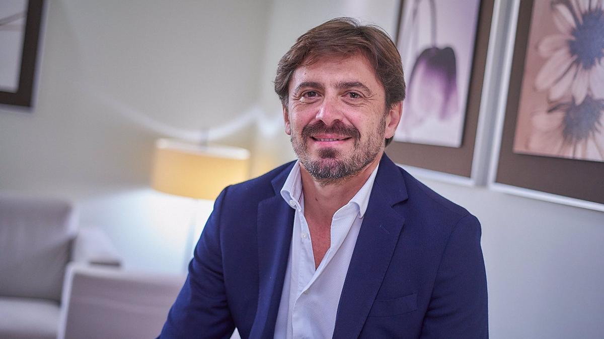 Jorge Marichal, presidente de Ashotel, en una imagen de archivo