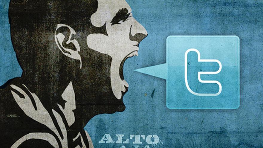 Twitter enfurecido. Foto: Flickr de Rosaura Ochoa CC.