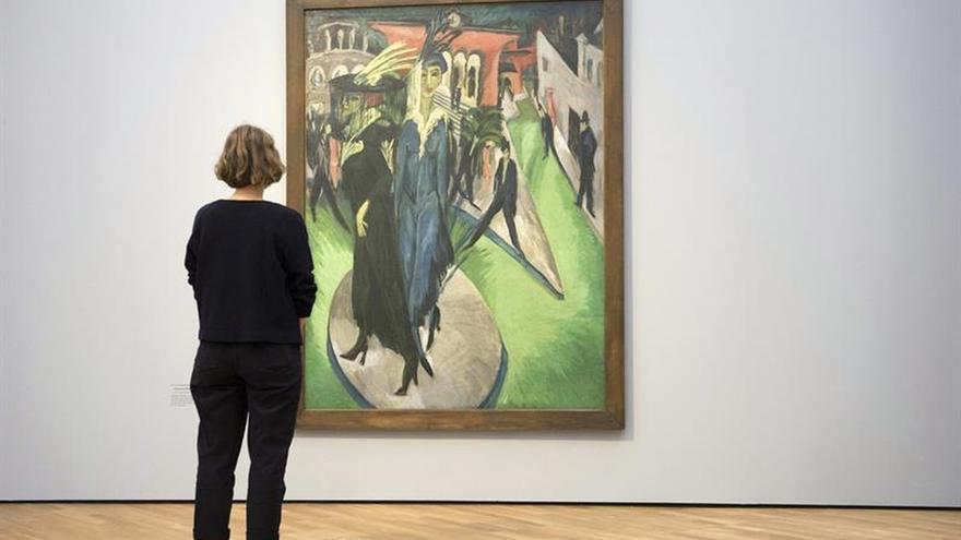 Berlín exhibe la realidad simbólica del pintor expresionista Kirchner