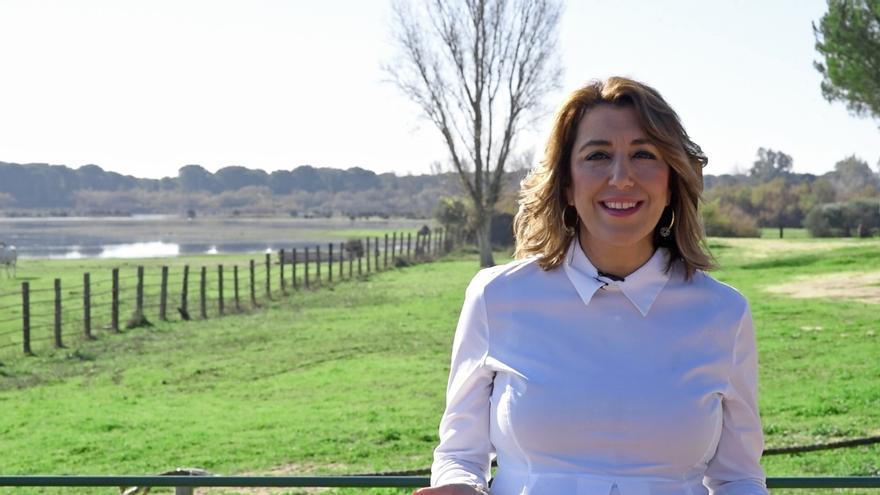 Susana Díaz pide al 2020 un Gobierno para España y que Andalucía recupere su senda de crecimiento económico