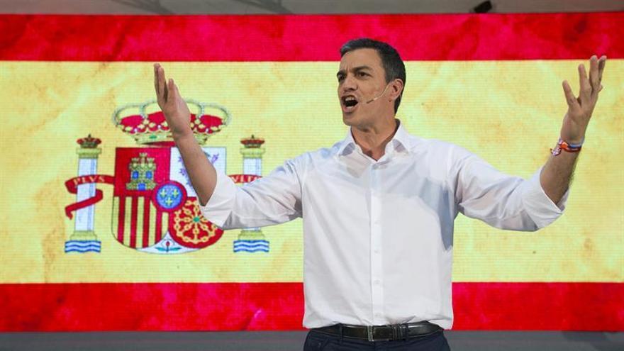 Sánchez: La izquierda es internacionalista, no nacionalista o independentista