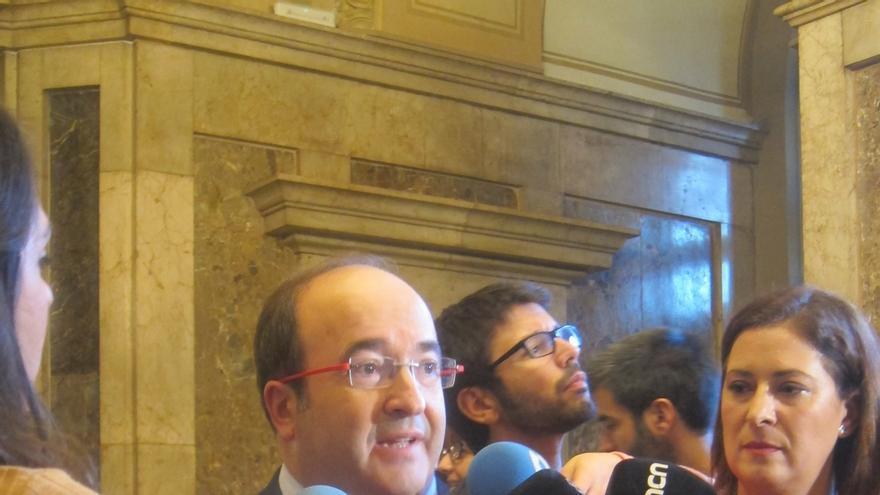 Iceta espera que las instituciones catalanas acaten las decisiones del TC