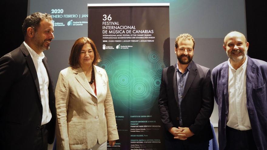 Presentación del  36º Festival de Música de Canarias.