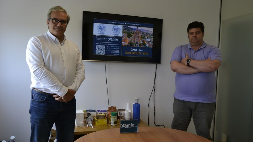 César Castresana y Héctor Traspuesto, socios-directores de AMIO.