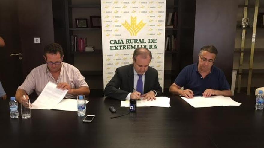 Caja Rural Extremadura acuerdo tormentas