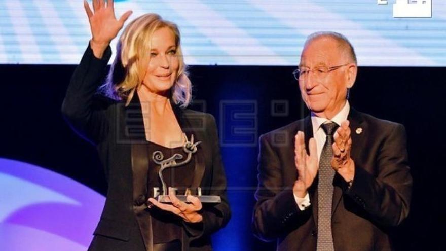 Bo Derek, premio 'Almería tierra de cine', agradecida de ser parte de su historia