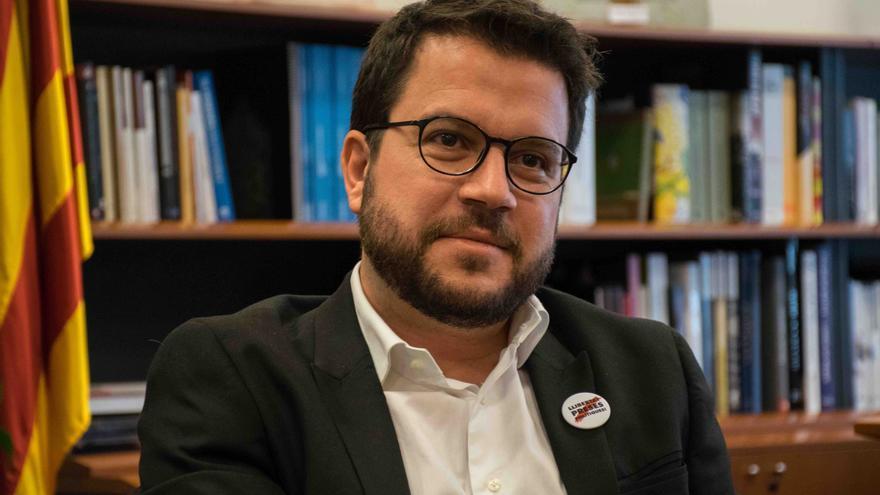 Entrevista a Pere Aragonès, vicepresidente de la Generalitat y conseller de Economía