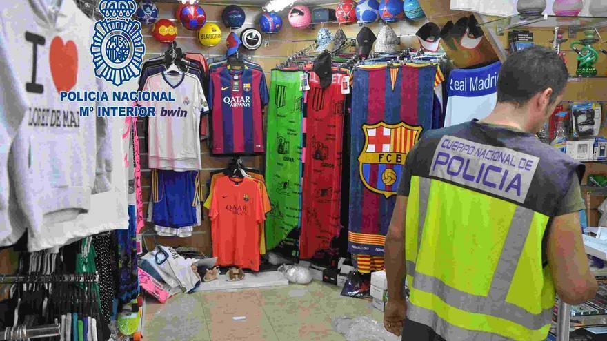 Desarticulada en Lloret de Mar (Girona) una red de falsificación de productos de marca