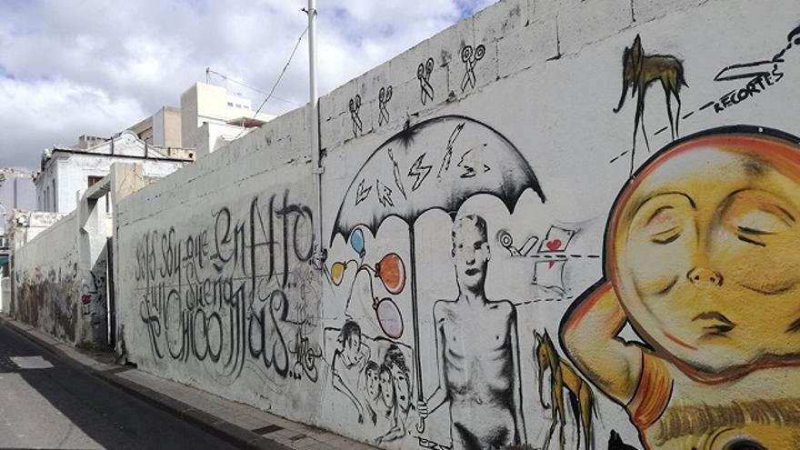 El barrio del Toscal presenta un aspecto muy deteriorado. (Belén Molina).
