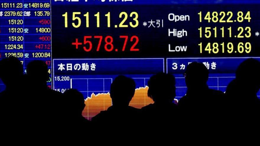 El Nikkei baja un 1,58 por ciento hasta los 19.625,36 puntos