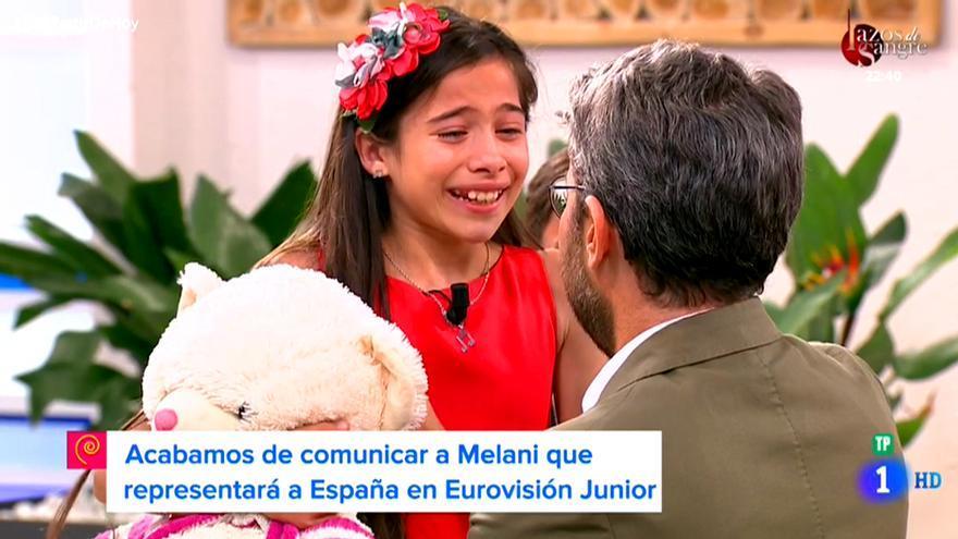 Melani García, ganadora de 'La Voz Kids', será la representante de España en Eurovisión Junior 2019