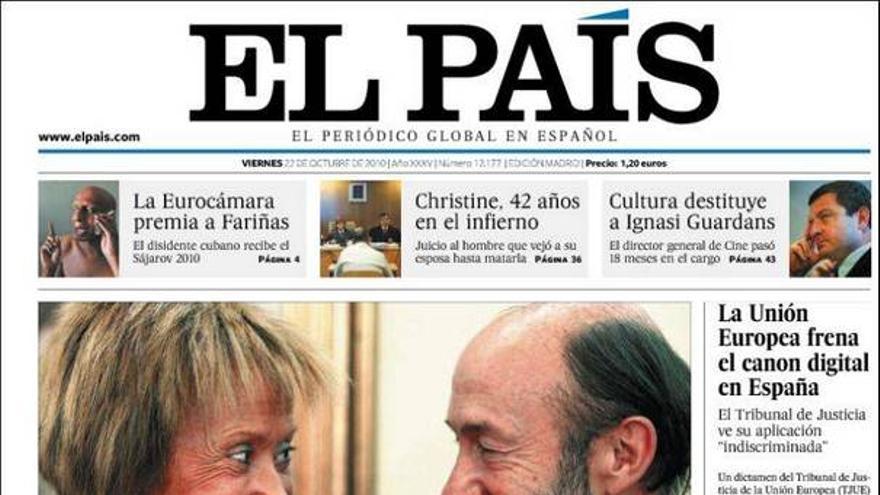 De las portadas del día (22/10/2010) #7