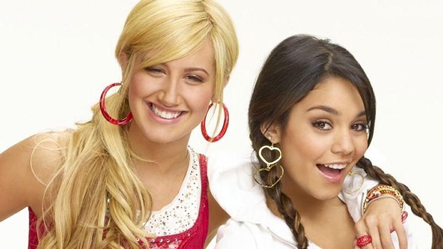 Ashley Tisdale y Vanessa Hudgens encarnaron a Sharpay Evams y Gabriella Montez en 'HSM'