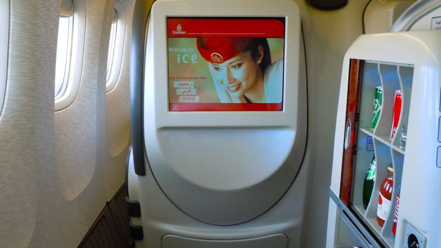 Interior de una de las aerolíneas del estudio de mejores compañías aéreas
