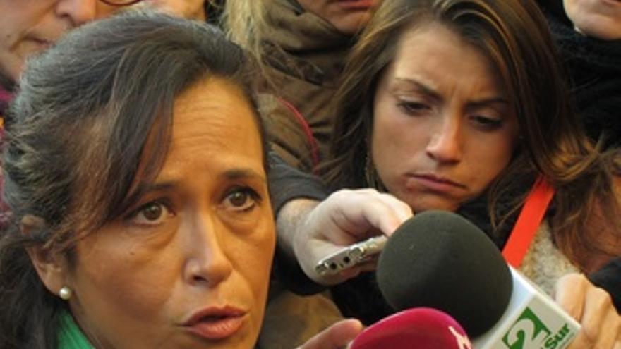 Susana García, Testigo Del Caso Marta, Atiende A Los Medios