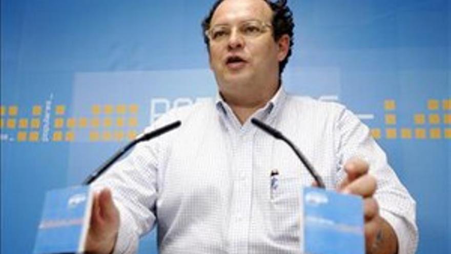 Javier Sánchez Simón, presidente de la Autoridad Portuaria.