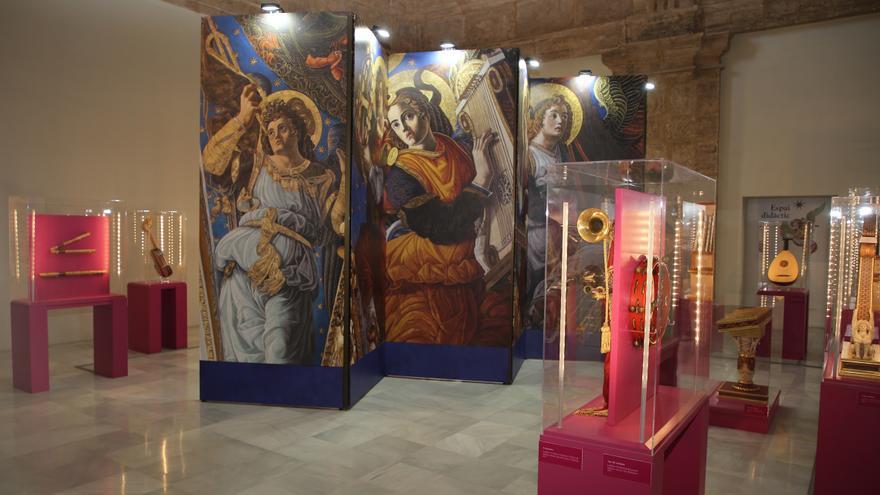 La exposición D'Atzur i Or. El silencio de los ángeles en el monasterio San Miguel de los Reyes de Valencia