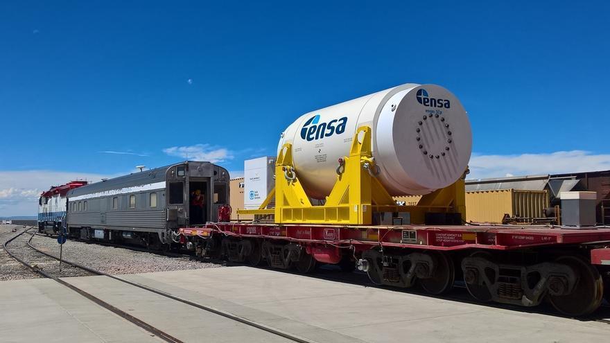 Ensa colabora en un proyecto internacional sobre el transporte de elementos combustibles en su contenedor ENUN 32P