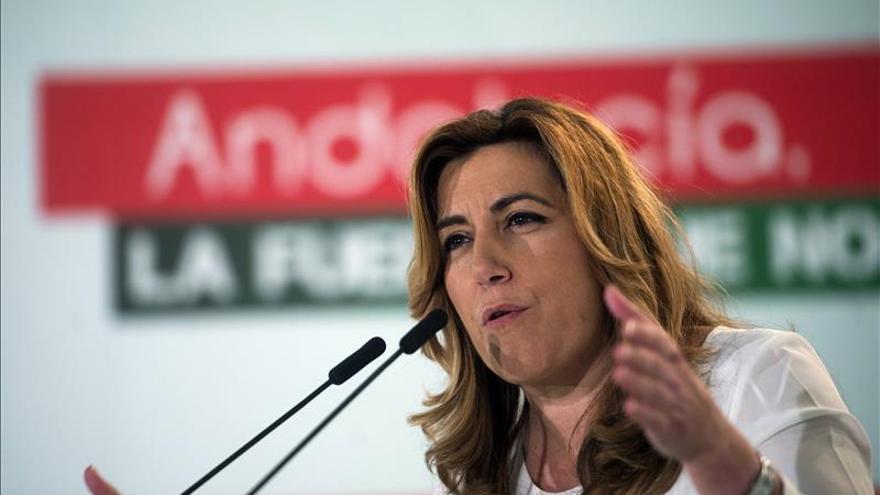 Díaz: Todas las encuestas apuntan a que PSOE va a ganar en Andalucía el 20D