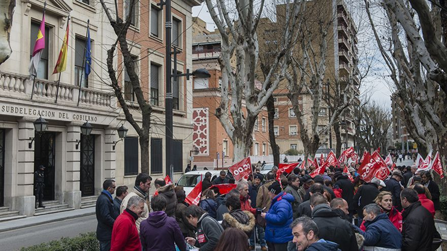 Convocatoria derecho a huelga en Guadalajara