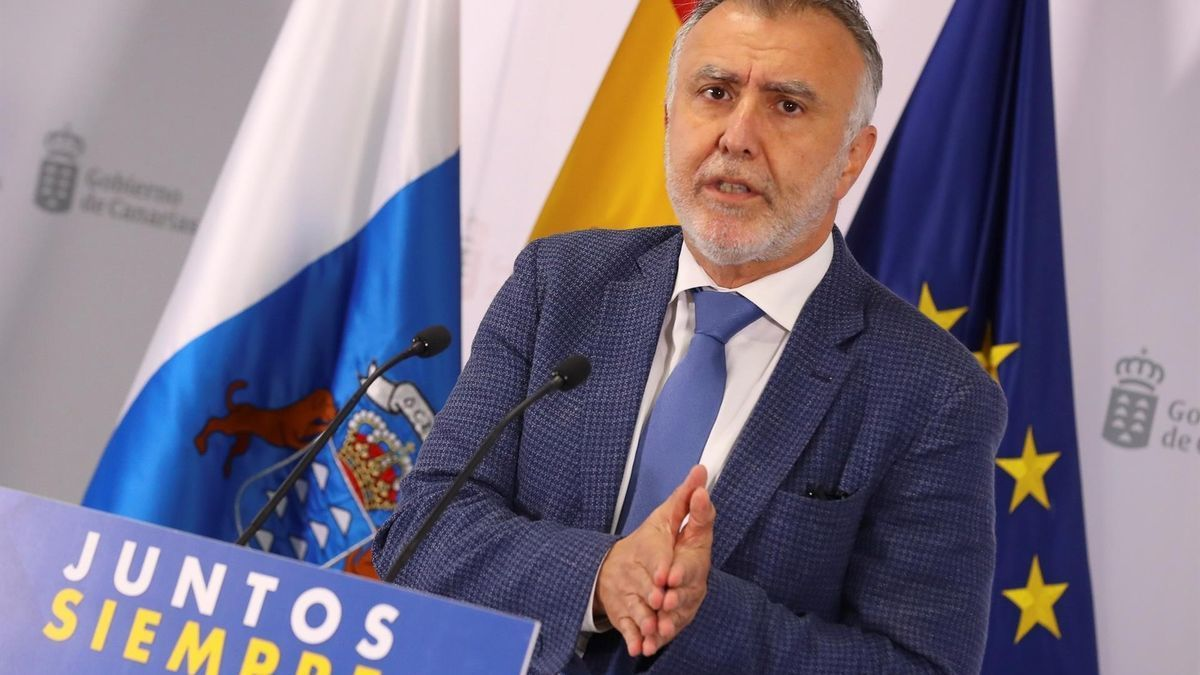 Ángel Víctor Torres, presidente del Gobierno de Canarias. Gobierno de Canarias