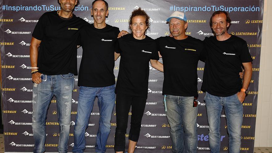 De izquierda a derecha: Rafa Lomana, João Garcia, Núria Picas, Antonio de la Rosa y Ferran Latorre.