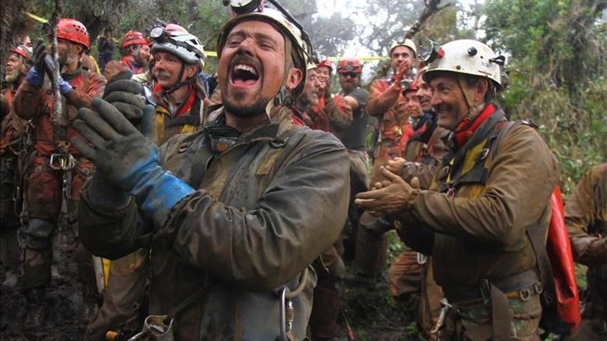 El espeleólogo español rescatado dice que lo peor fueron los primeros días