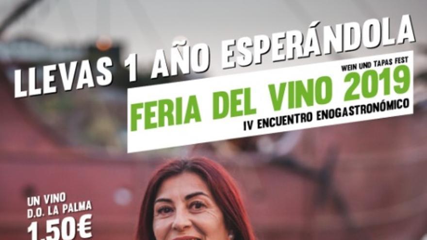 Cartel de la Feria del Vino.