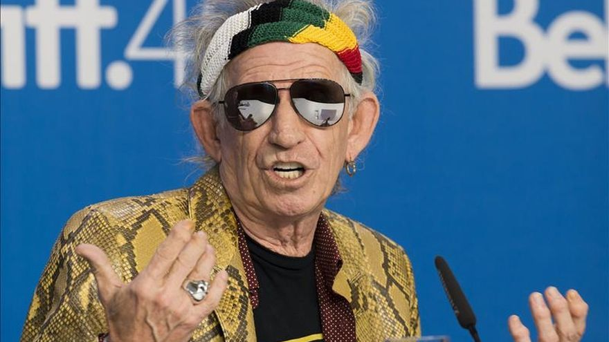 Keith Richards dice a sus 71 años que todavía queda mucho de Rolling Stones